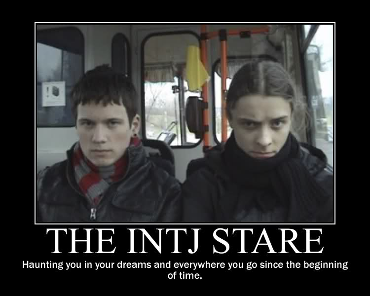 the intj death stare julian o dea